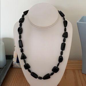 Jewelry - 💰2/$30💰Onyx Stone Necklace